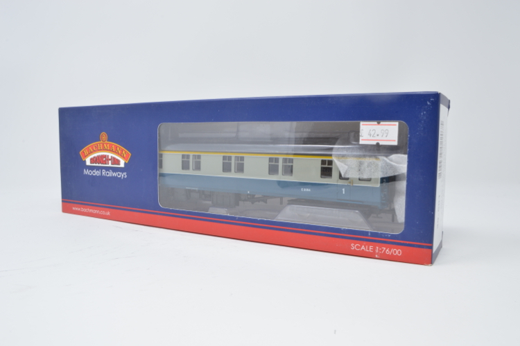 Bachmann 39-501 BR MK1 SLF Coach Sleeping Car First Class Blue & Grey (Inter-City)