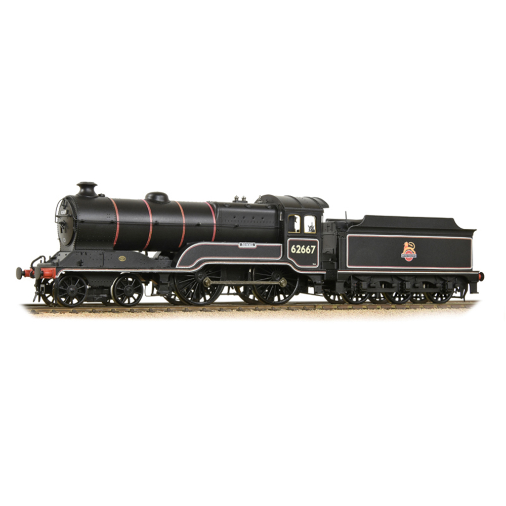 GCR 11F (D11/1) 62667 'Somme' BR Lined Black (Early Emblem)