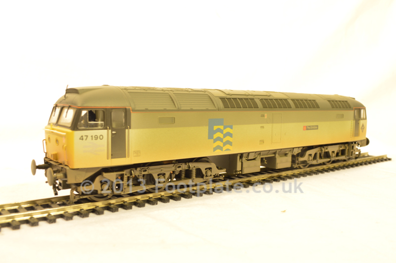 Bachmann 31-658 Class 47 47190 'PECTINIDAE' BR Petroleum Sector - Weathered