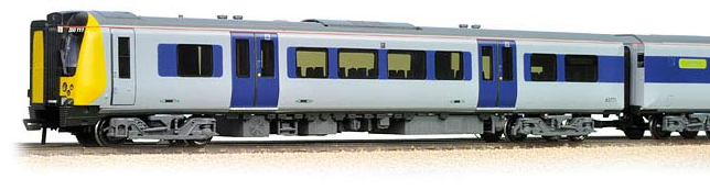 Bachmann 31-030 Class 350/1 Desiro 4 Car EMU 350111 'Apollo' Silver Link un-branded