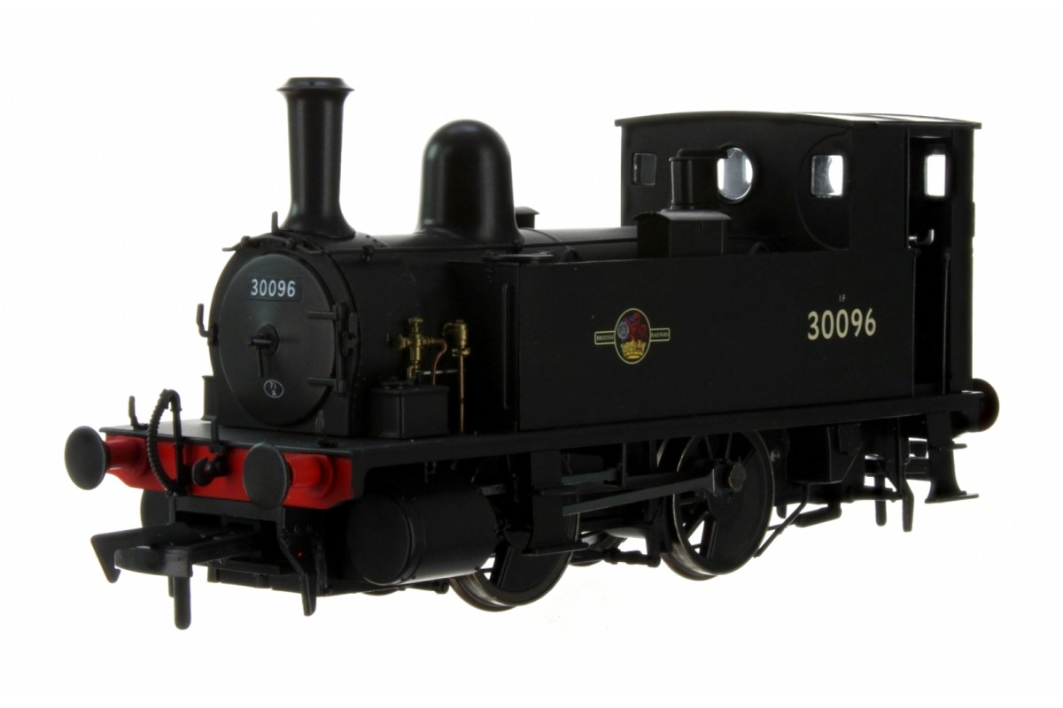 Dapol 4S-018-005 OO GAUGE LSWR CLASS B4 BR BLACK (EARLY CREST) 0-4-0 TANK LOCOMOTIVE NO.30096