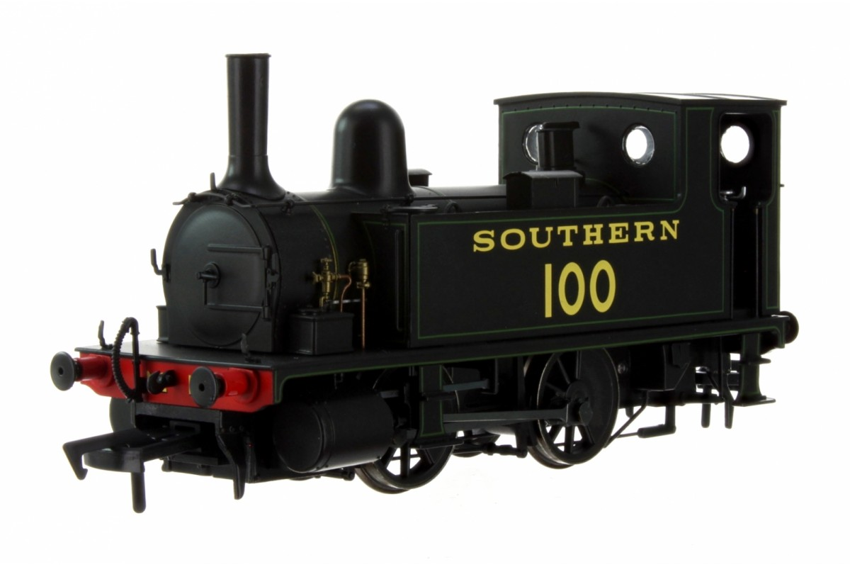 Dapol 4S-018-008 B4 0-4-0T Southern Black Lined Green No. 100