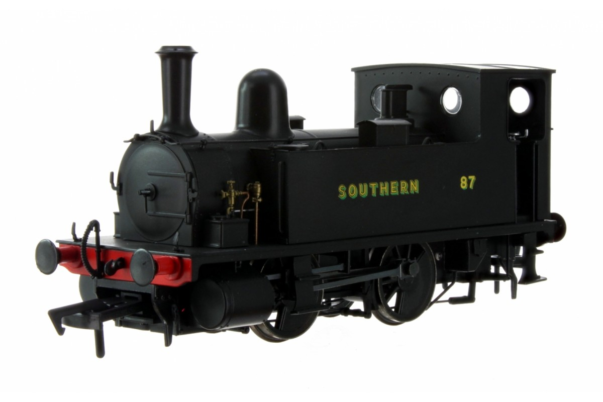 Dapol 4S-018-009 OO GAUGE LSWR CLASS B4 SOUTHERN BLACK 0-4-0 TANK LOCOMOTIVE NO.87