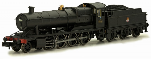 Dapol 2S-009-006 38xx Class 2-8-0 3846 BR black with early crest