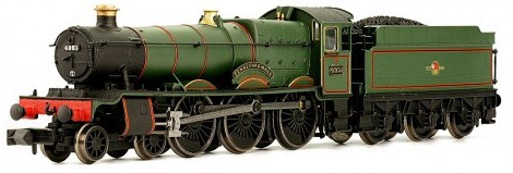 Dapol 2S-010-001 Class 49xx Hall 4-6-0 4951 'Pendeford Hall' BR lined green with late crest