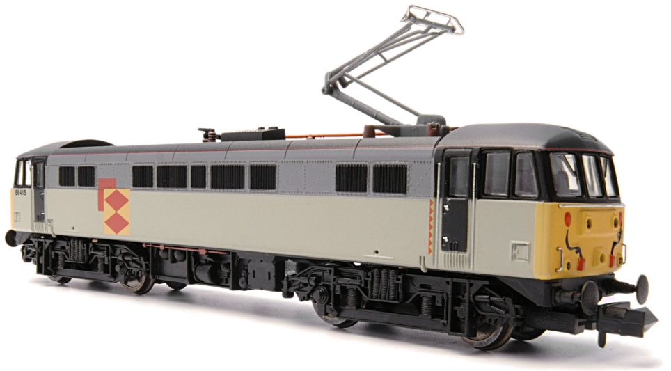 Dapol ND-099K Class 86 86415 Triple Grey Railfreight Distribution