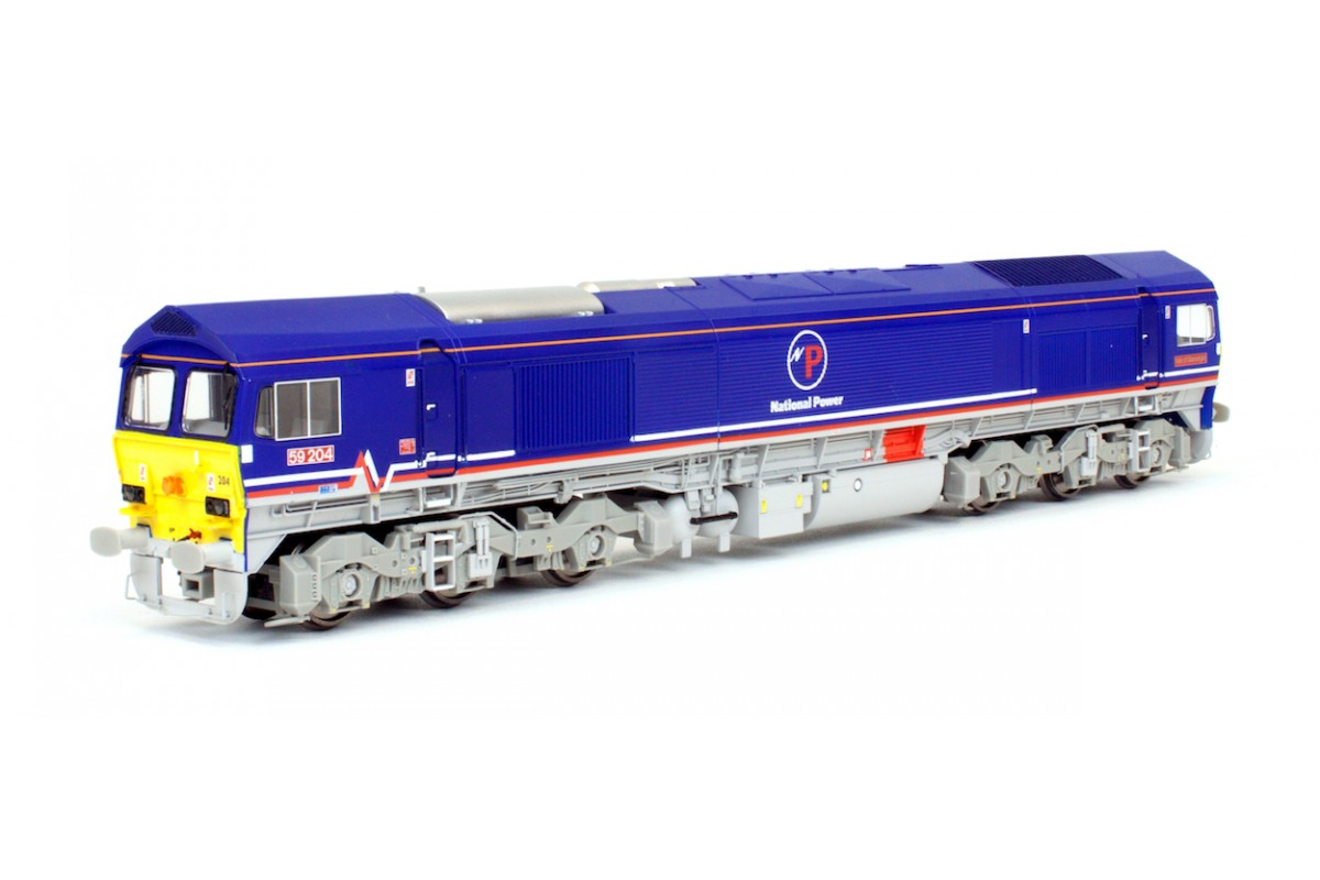 DAPOL 4D-005-003 CLASS 59 204 NATIONAL POWER DIESEL LOCOMOTIVE