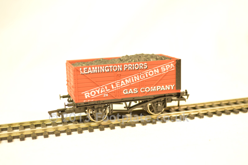 Dapol 4F-080-003 Leamington Spa 8 Plank Wagon