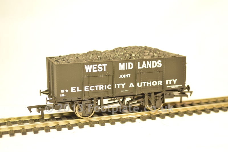 Dapol B834 20t Steel Mineral - West Midlands Electricity