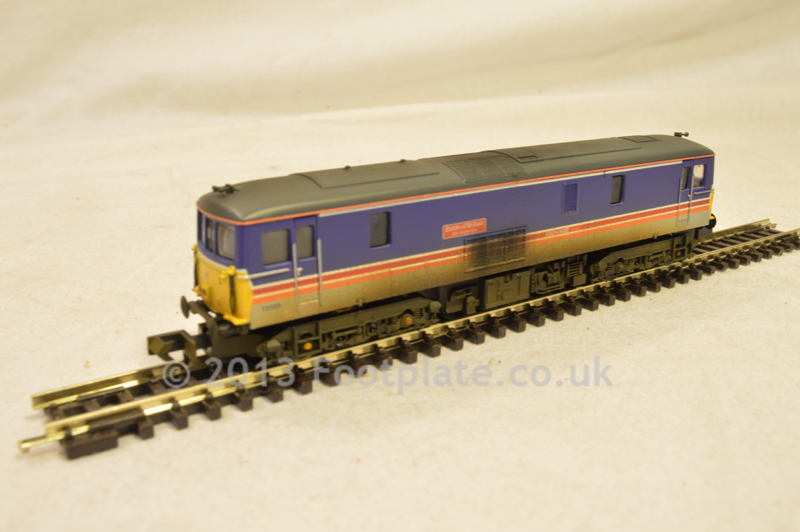 Dapol ND-006W Class 73 73109 'Battle of Britain' South West Trains (Hand Weathered)