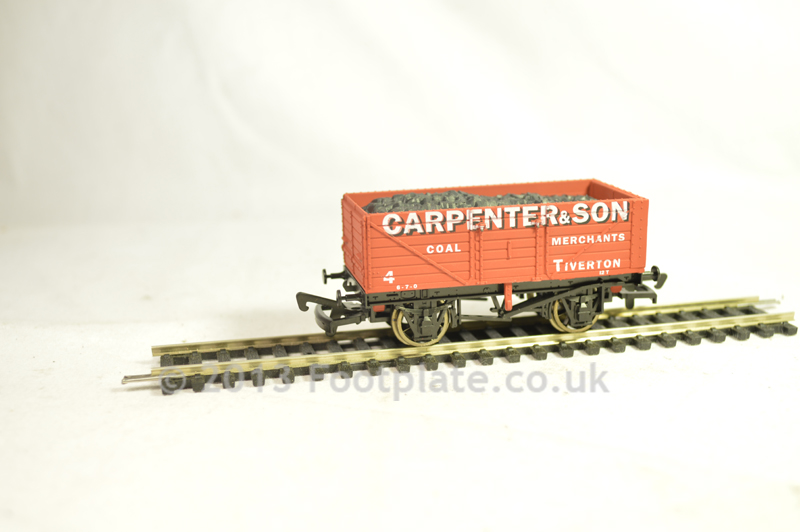 Dapol B550 7 Plank - Carpenter, Tiverton