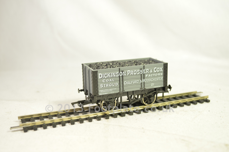 Dapol B810 7 Plank - Dickinson Prosser 9ft W/B Chassis