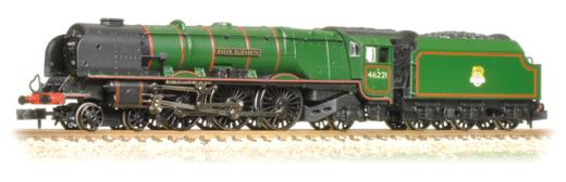 Graham Garish 372-181A Princess Coronation Class 46221 'Queen Elizabeth ' BR Green Early Crest