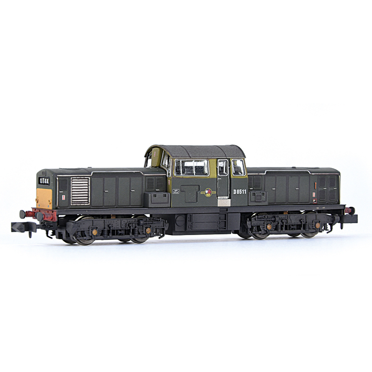 EFE Rail E84508 Class 17 D8511 BR Green (Small Yellow Panels) [W]
