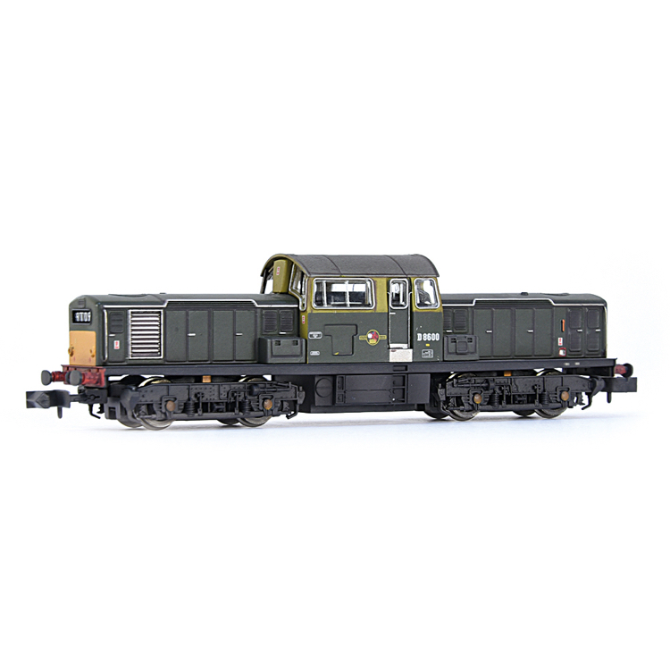 EFE Rail E84509 Class 17 D8600 BR Green (Small Yellow Panels) [W]