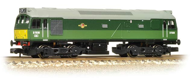 Graham Farish 371-019 Class 08 08897 EWS Weathered