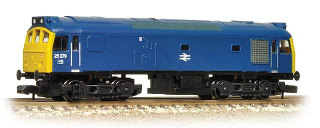 Graham Farish 371-088 Class 25/2 25231 BR Blue Weathered