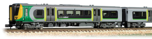 Graham Farish 371-702 Class 350/2 Desiro 4 Car EMU 350101 London Midland