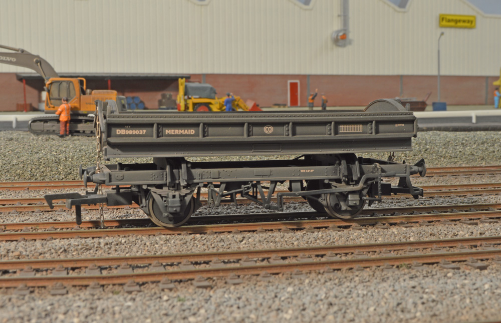 Flangeway ME12 BR Black Mermaid (Weathered) DB989010