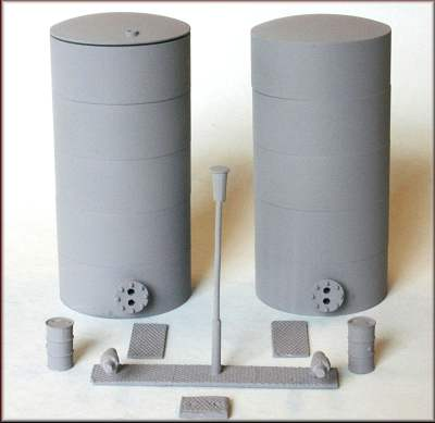 Knightwing PM135 Oil-Liquid powder tanks OO