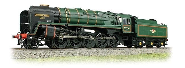 Bachmann 32-850A BR Standard 9F 92220 'Evening Star' BR Green Late Crest - Click Image to Close