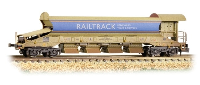 Graham Farish 377-700A JAN MK2 Auto-ballaster generator unit railtrack (weathered)