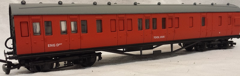Dapol FP6 Breakdown Train Tool Van No.4