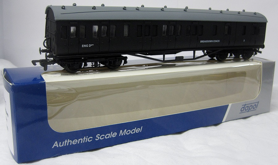 Dapol FP7 Breakdown Train Coach - No.3 - Click Image to Close