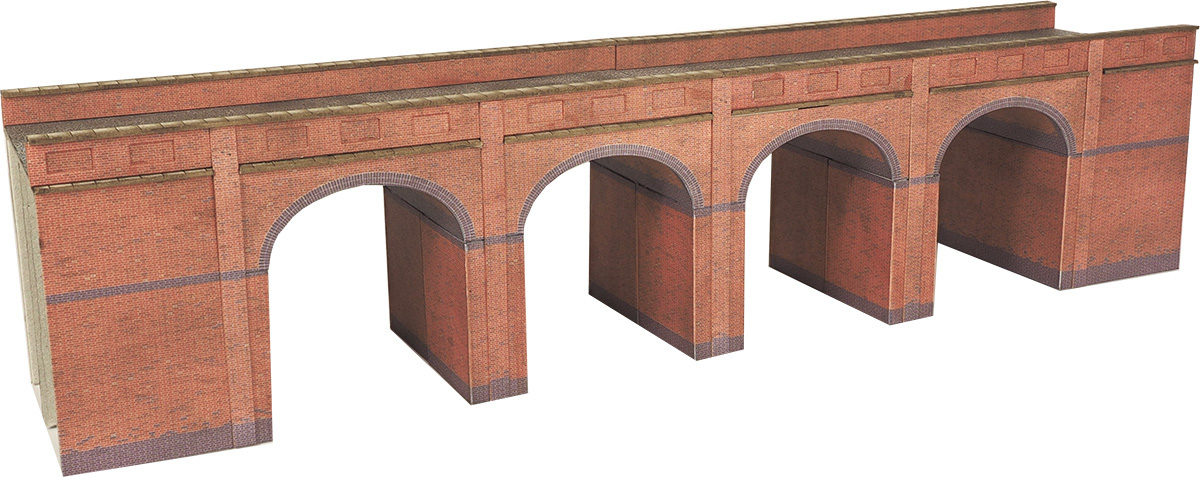 Metcalfe Models PN140 Red Brick Viaduct