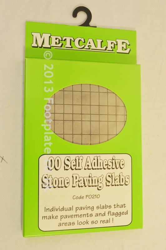 Metcalfe Models PO210 Self Adhesive Paving Slabs