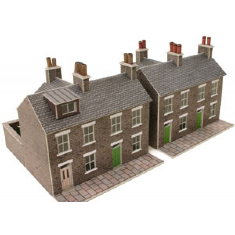 Metcalfe Models PN104 Stone Built Terraced Houses
