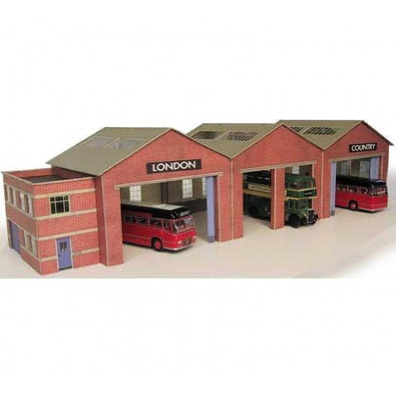 Metcalfe Models PN125 Bus Garage