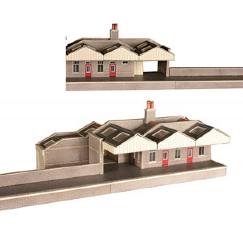 Metcalfe Models PN131 Parcels Office & Waiting Room