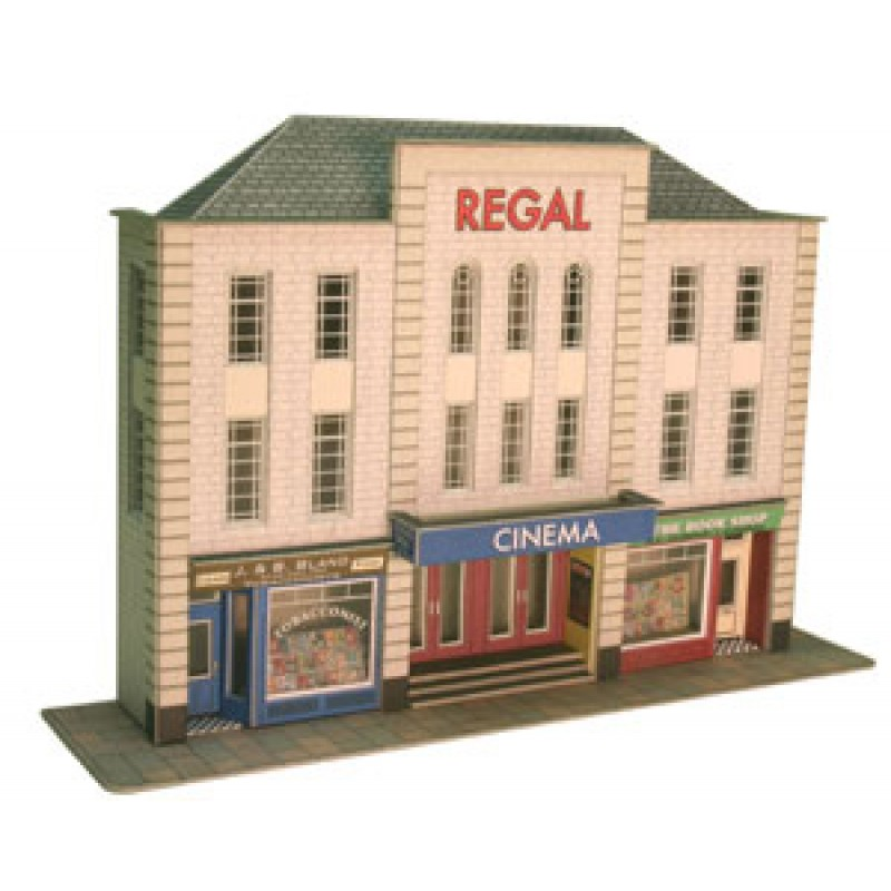 Metcalfe Models PO206 Low-Relief Cinema & Shops