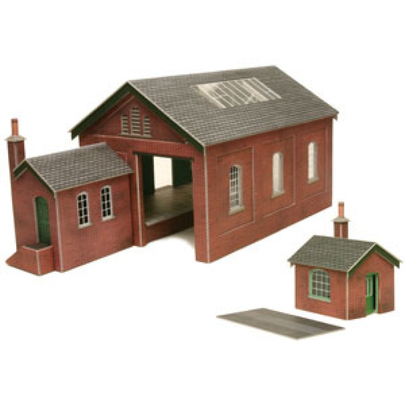 Metcalfe Models PO232 Goods Shed