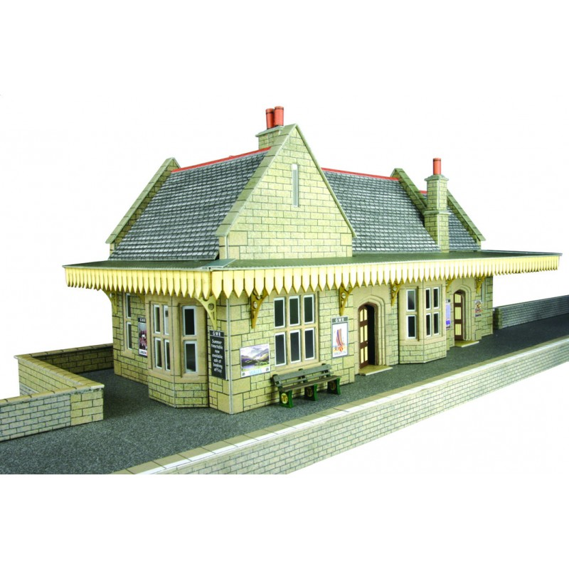 Metcalfe Models PO238 Stone Built Wayside Station