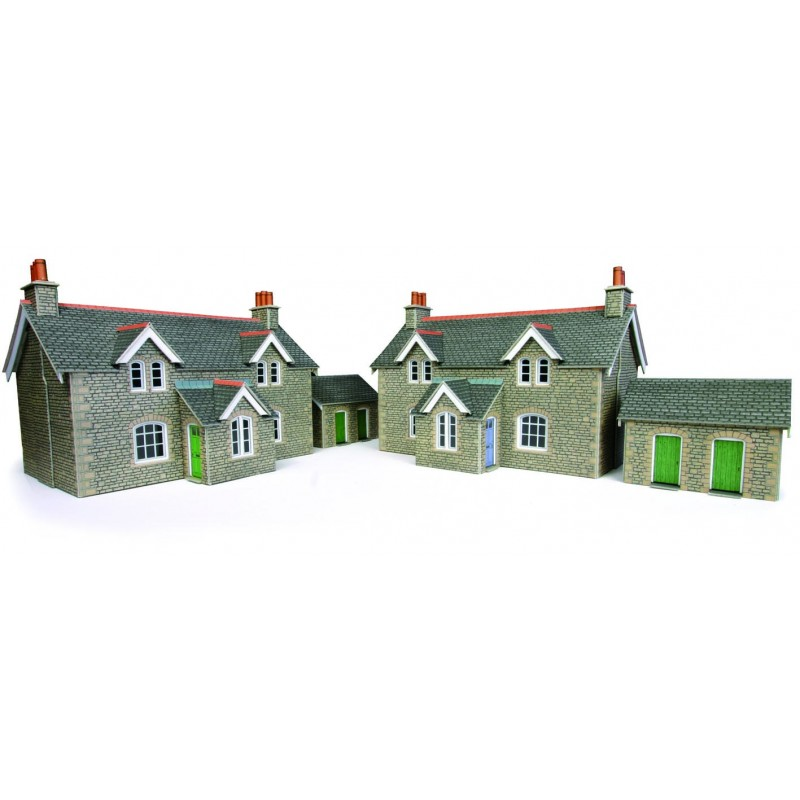 Metcalfe Models PO255 Railway Workers Cottages