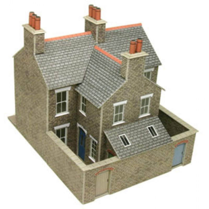 Metcalfe Models PO262 Stone Terraced Houses