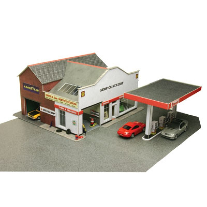 Metcalfe Models PO281 Service Station