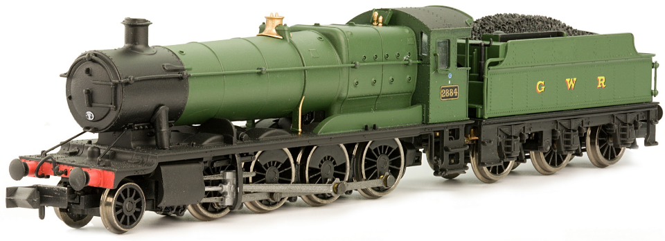 Dapol 2S-009-000 28xx Class 2-8-0 2884 GWR green with GWR tender lettering