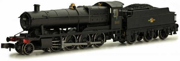 Dapol 2S-009-007 38xx Class 2-8-0 3822 BR black with late crest