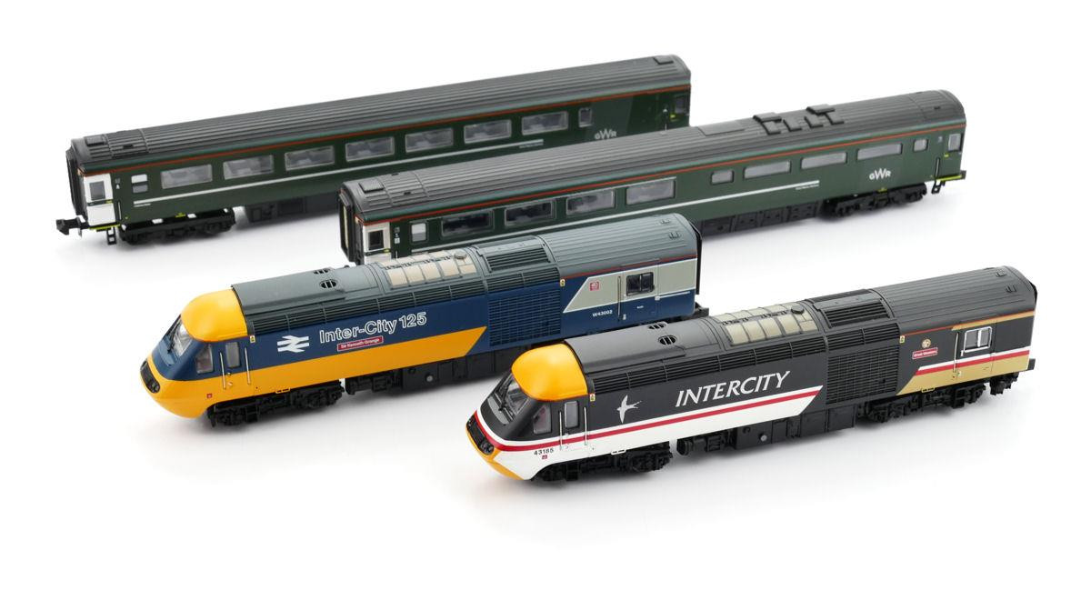 GM2210302 CLASS 43 HST 43002/185 GWR FINAL DAYS CELEBRITY SET