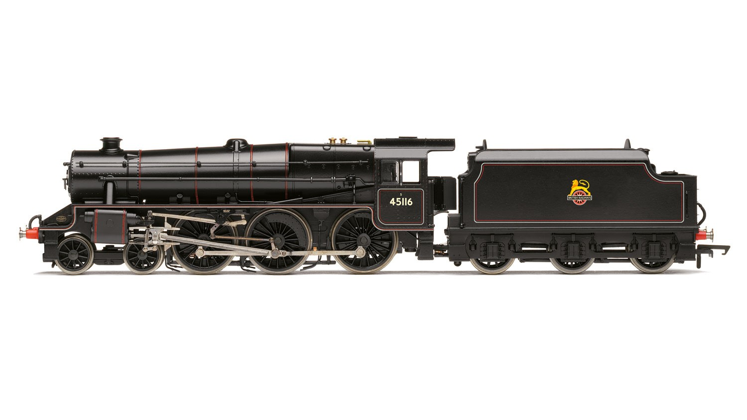 Hornby R3385TTS BR (early) Black 5 Class '45116' With ITS Sound