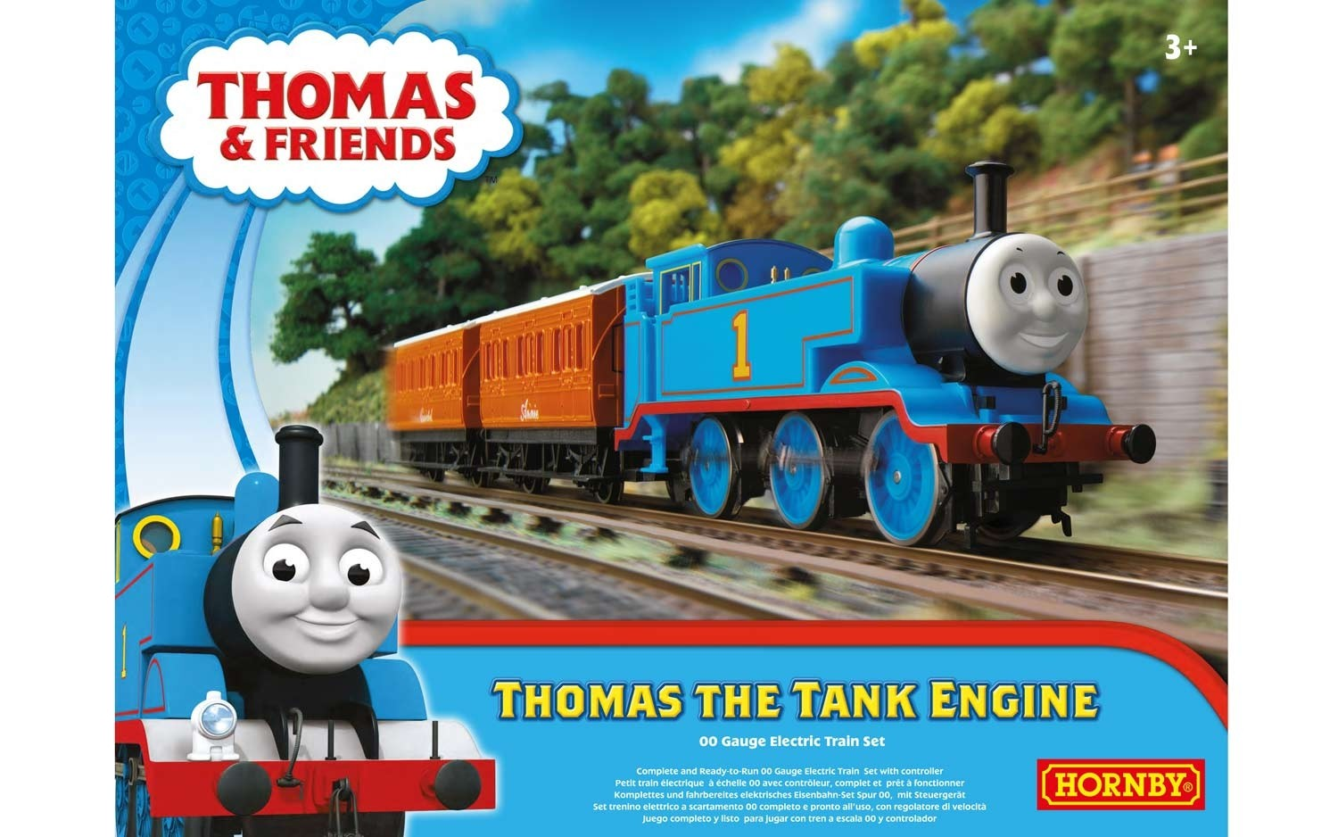 Hornby R9283 Thomas the Tank Engine set