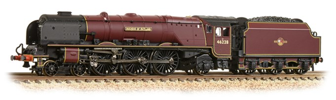 graham farish 372-184A BR maroon Duchess of Rutland